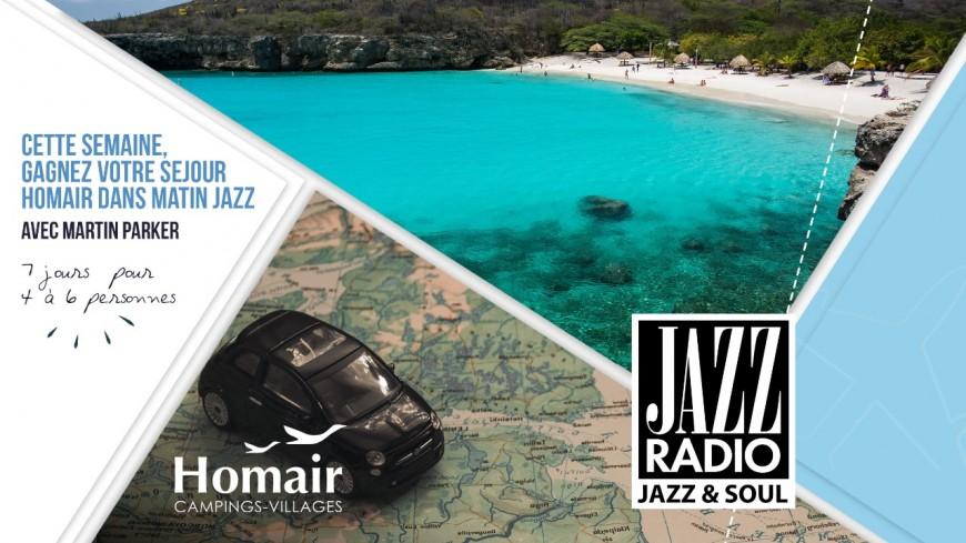 Cette semaine Jazz Radio vous invite en vacances !