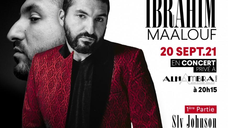 Gagnez vos places pour le concert privé de Ibrahim Maalouf et Sly Johnson le 20/09 à l'Alhambra