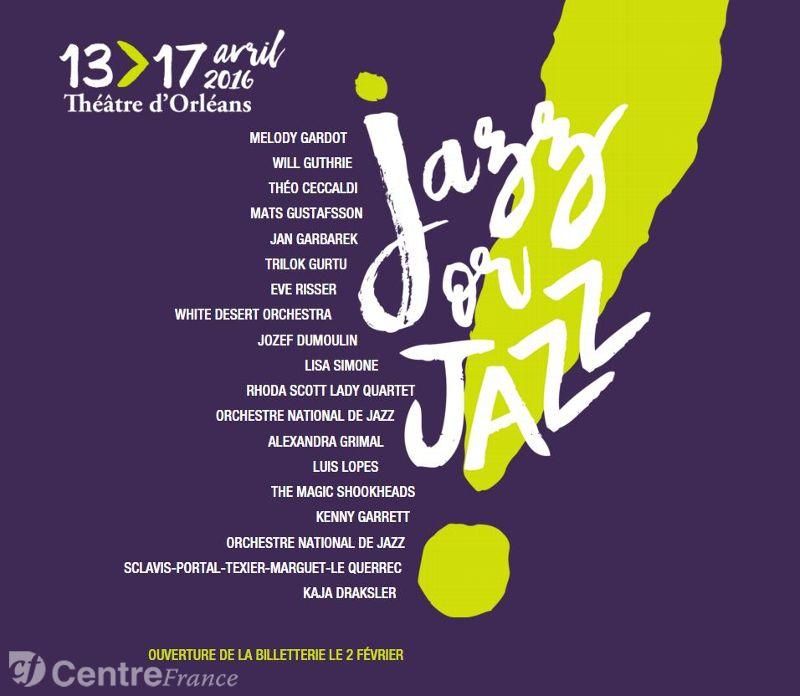 Jazz or Jazz: Le festival qui prend la relève à Orléans !