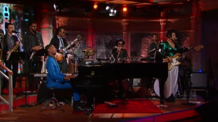 "Lianne La Havas nous joue ""Green And Gold"" chez Stephen Colbert  !"
