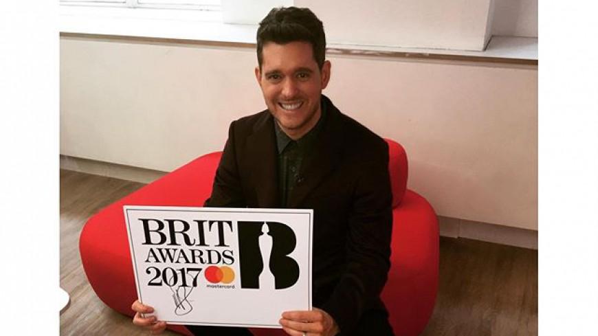 Michael Bublé présentera les Brit Awards 2017 !