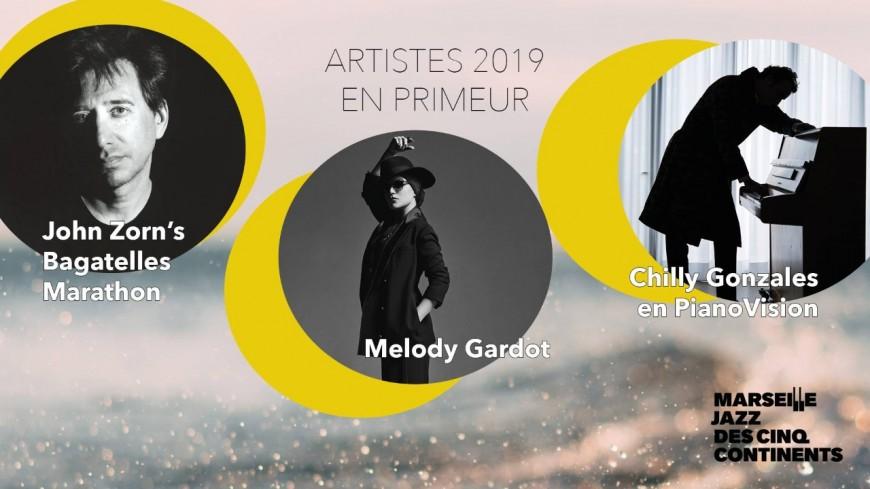 La programmation complète du Festival Jazz des cinq continents