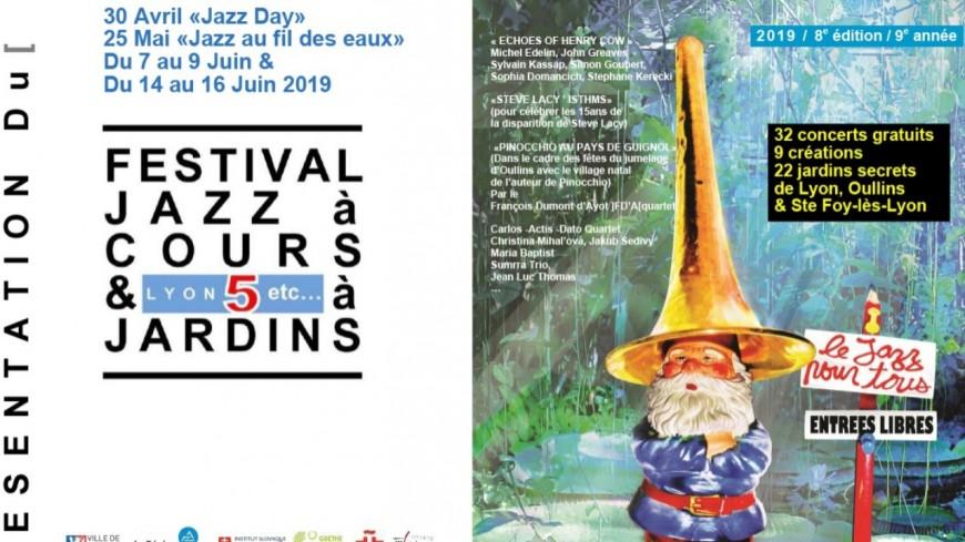 Festival Jazz à Cours et à Jardins