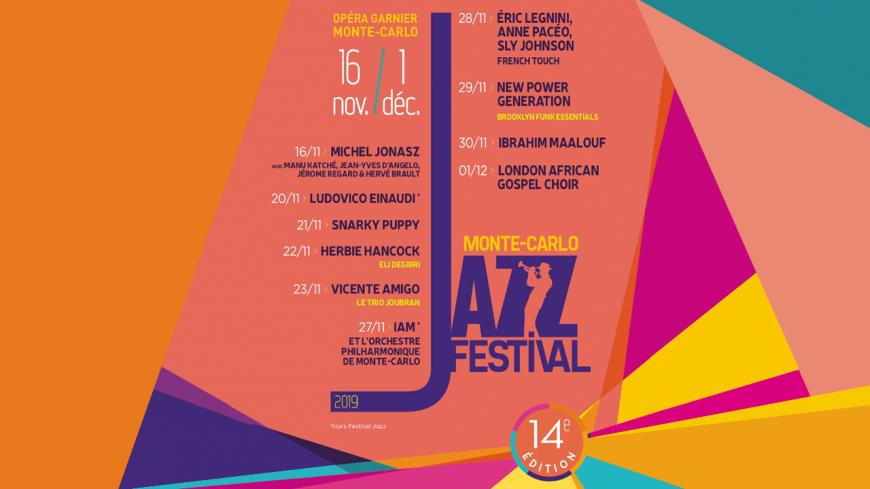 Le Monte Carlo Jazz Festival édition 2019