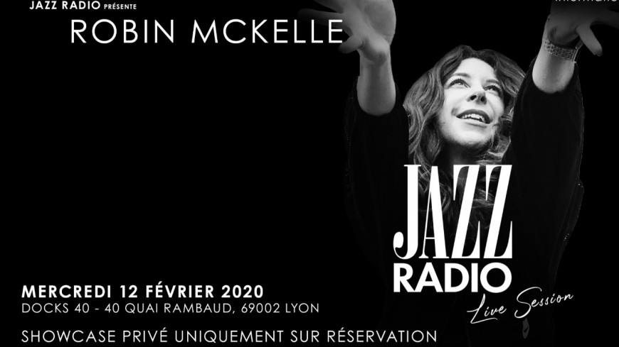 Robin McKelle invitée au Jazz Radio Live Session