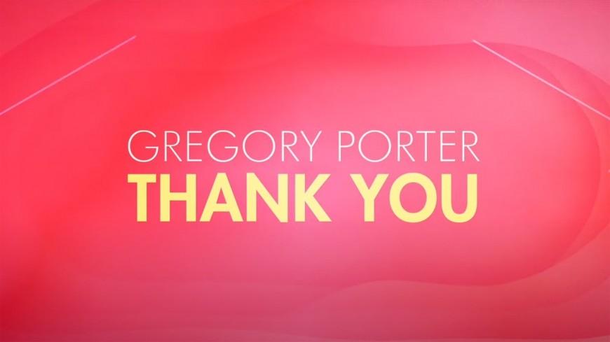 "Gregory Porter dit ""Thank you"" aux soignants"