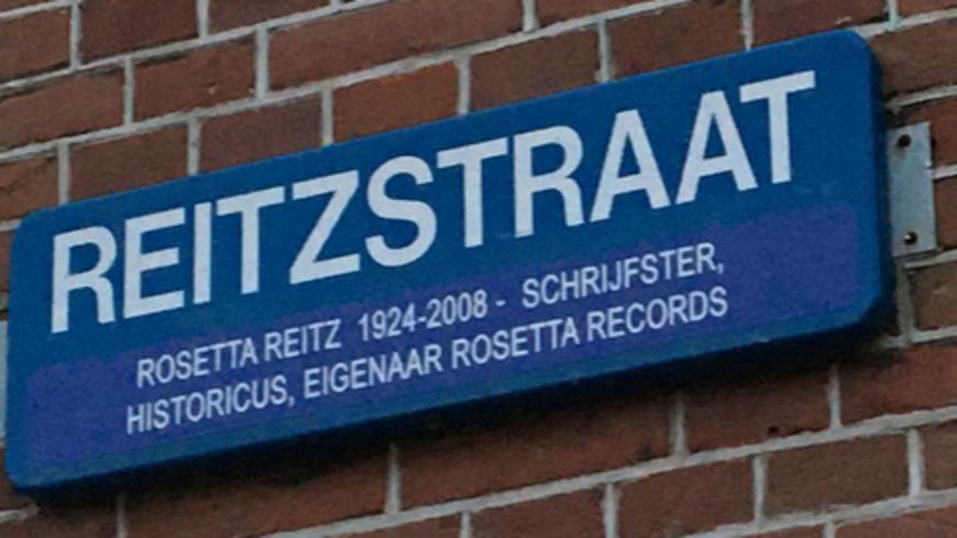 Pays-Bas : une rue porte maintenant le nom de Rosetta Reitz