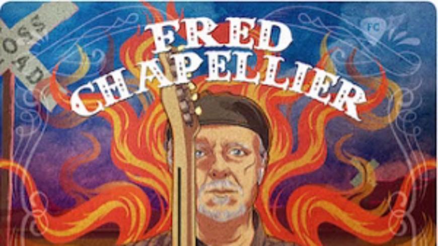 Zoom sur le guitariste blues Fred Chapellier !