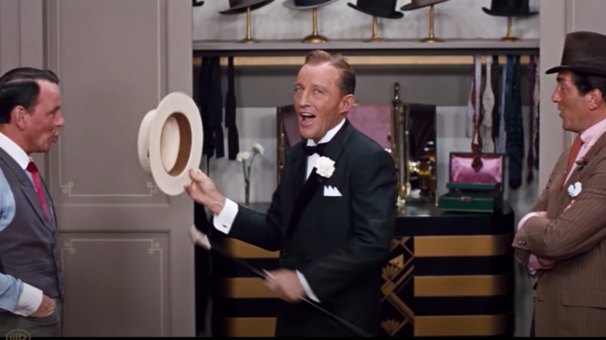 Vidéo : retour en 1964 avec Bing Crosby, Dean Martin et Frank Sinatra !