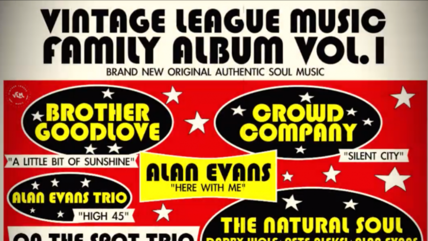 "Le label Vintage League Music (VLM) propose ""Vintage League Music's - Family Album Vol.1"" ! (extraits)"