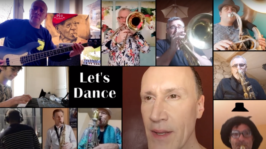 David Linx et l'orchestre de Jazz Action Valence rendent hommage à David Bowie ! (vidéo)
