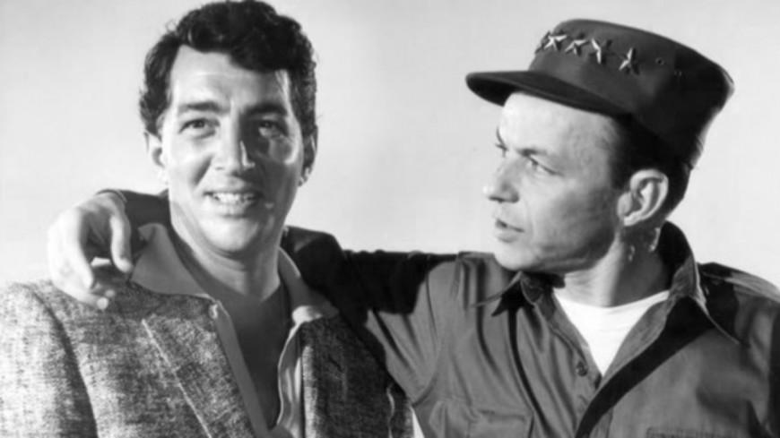 Quand Dean Martin et Frank Sinatra se retrouvent sur scène pour un medley (vidéo)