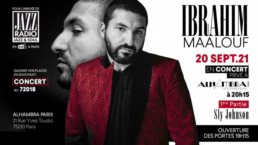 Ibrahim Maalouf et Sly Johnson en concert à Paris !