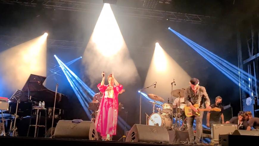 Retour sur la prestation de Robin McKelle et Fred Chapellier au Blues Roots Festival ! (vidéo)