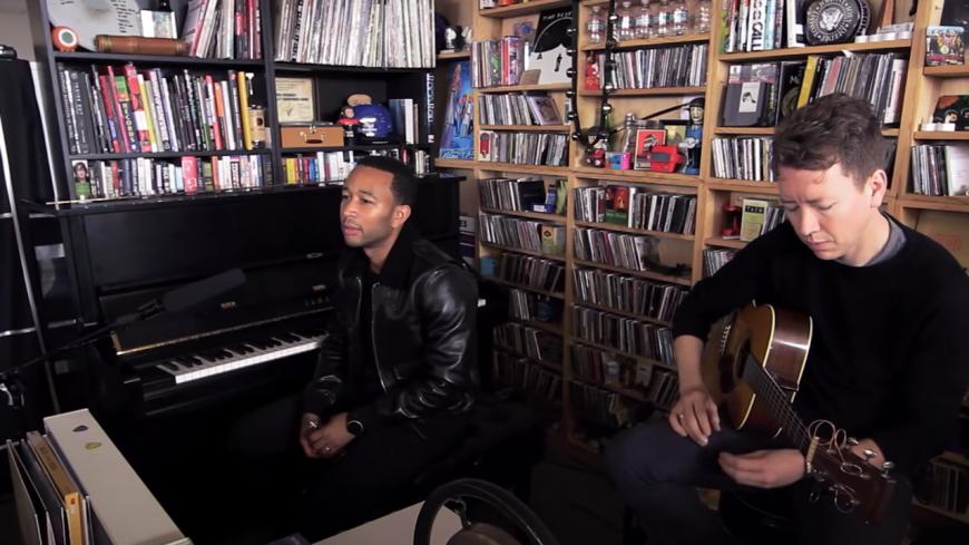 Revivez le sublime Tiny Desk Concert de John Legend ! (vidéo)