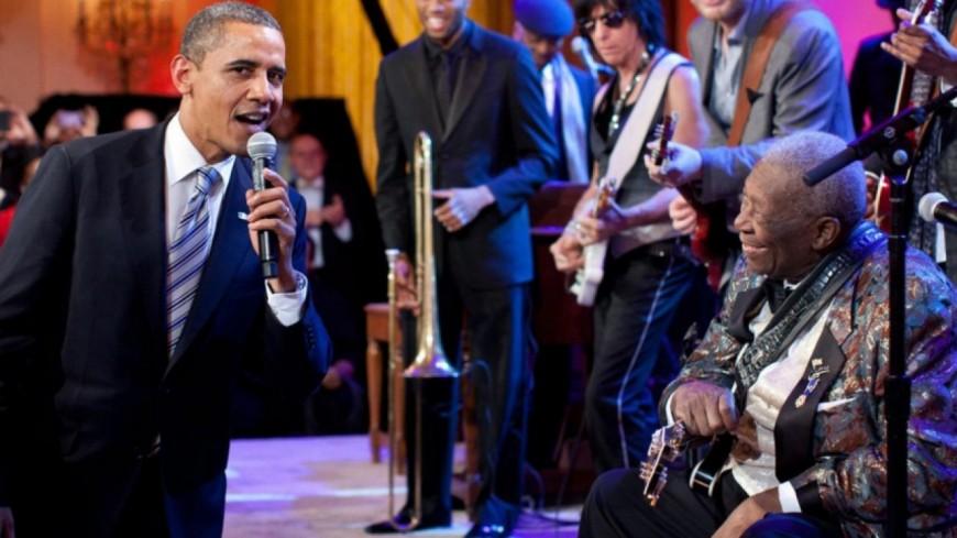 Famille Obama : Fan de Jazz and Soul