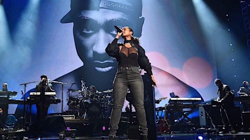 L'hommage d'Alicia Keys à Tupac
