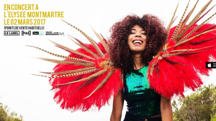 La musique réchauffante de Flavia Coelho, bientôt sur la scène parisienne !