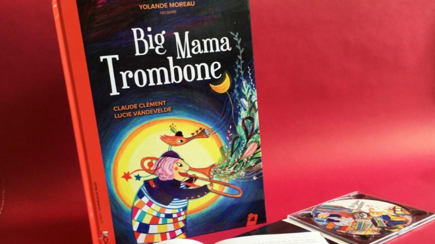 Yolande Moreau raconte le jazz aux enfants dans Big Mama Trombone !