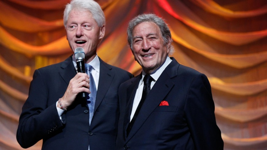 Tony Bennett : son premier fan s'appelle Bill Clinton !