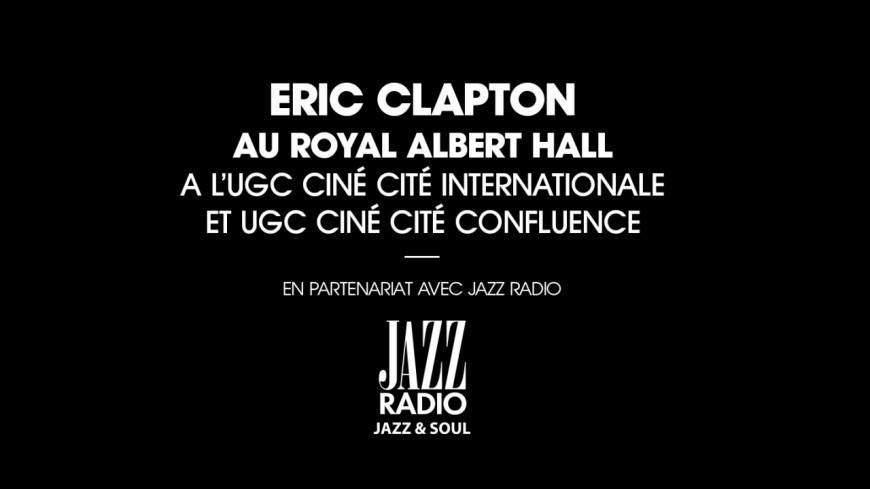 Le concert d'Eric Clapton dans nos salles