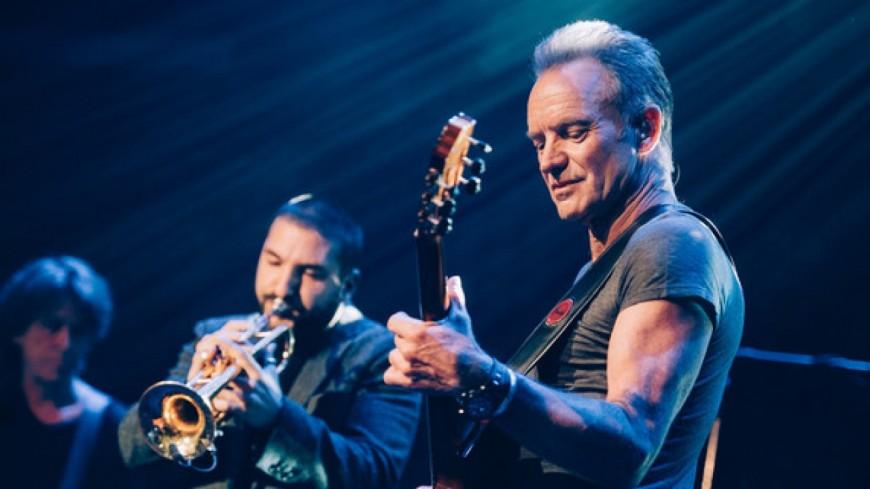 Ibrahim Maalouf : le trompettiste a accompagné Sting sur la scène du Bataclan