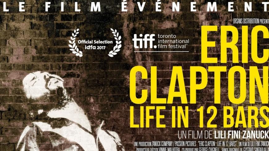 Sortie du film sur le légendaire guitariste Eric Clapton