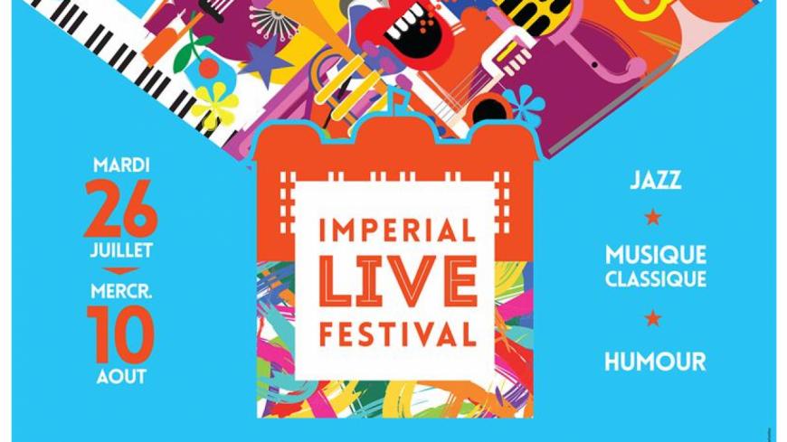 Imperial Live Festival 2016: Le palais du jazz cet été !
