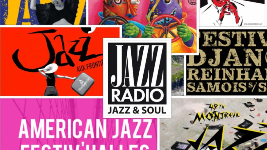 Cet été, Jazz Radio vous invite aux plus grands festivals !