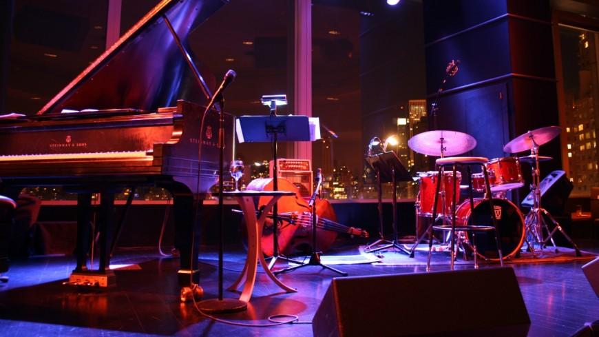 Grande soirée anniversaire du Black & Blue label, à Paris.