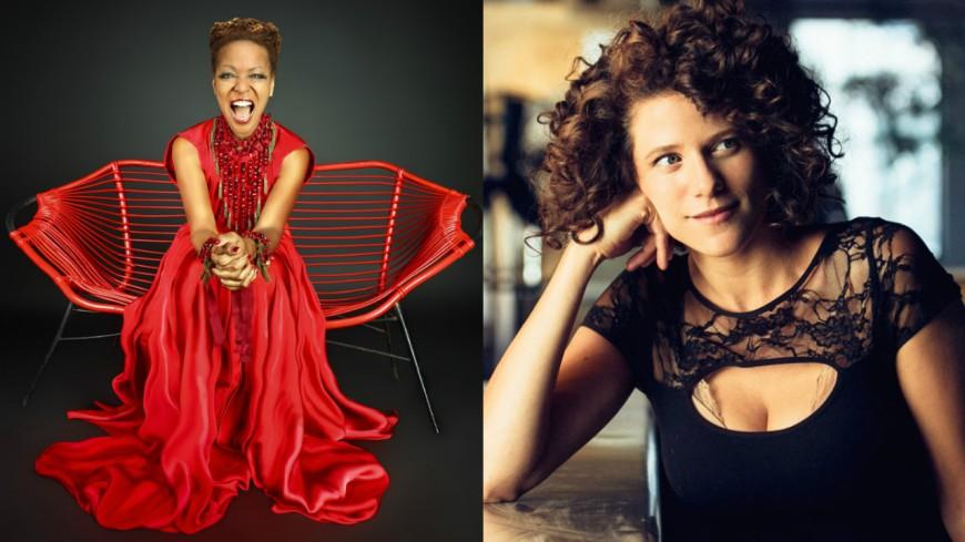 Lisa Simone et Cyrille Aimée en concert à Marciac !