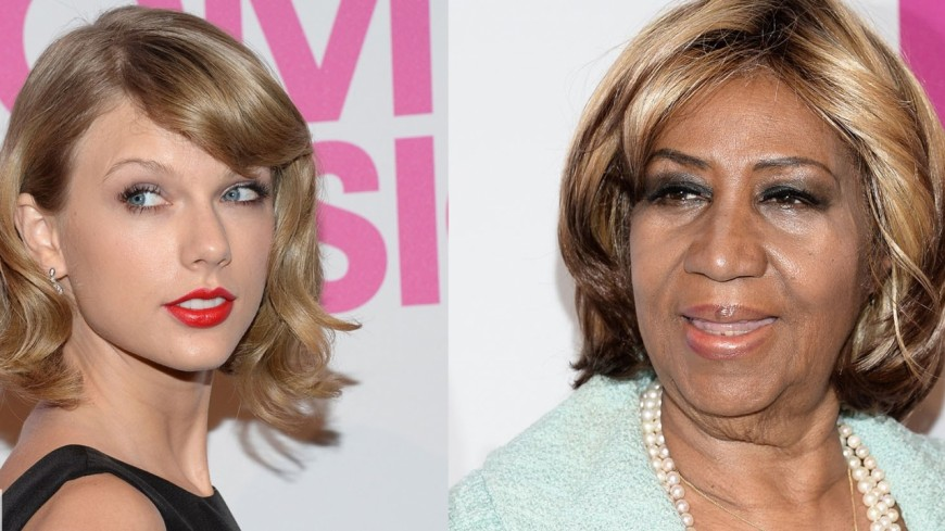 Aretha Franklin bientôt battue par Taylor Swift