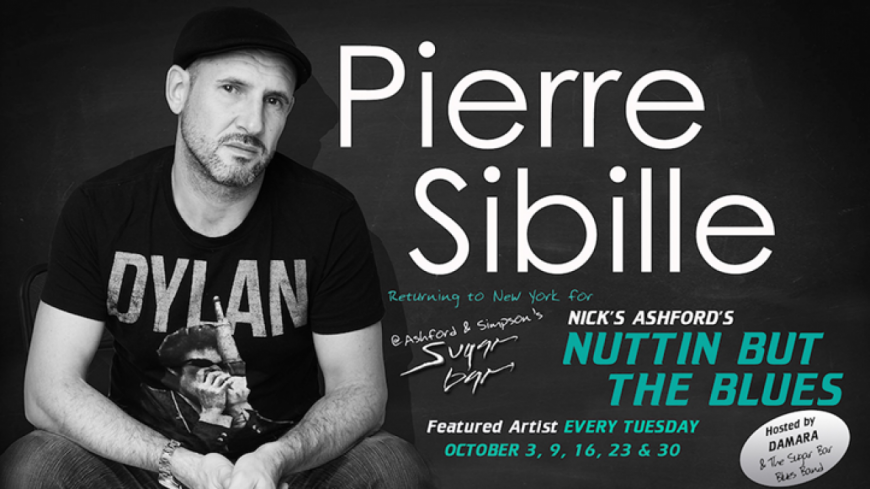 Le français Pierre Sibille en concert à New-York