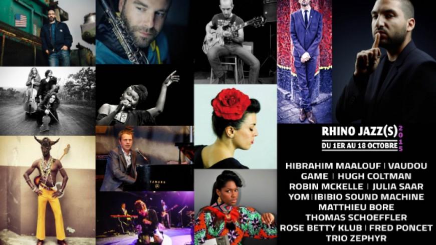 Rhino Jazz(s) Festival : les premiers noms de la 37ème édition dévoilés  !