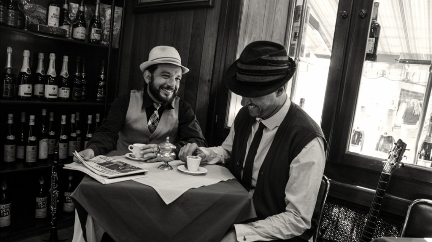 "Le duo Tzaccastrada présente ""With The Flow"""
