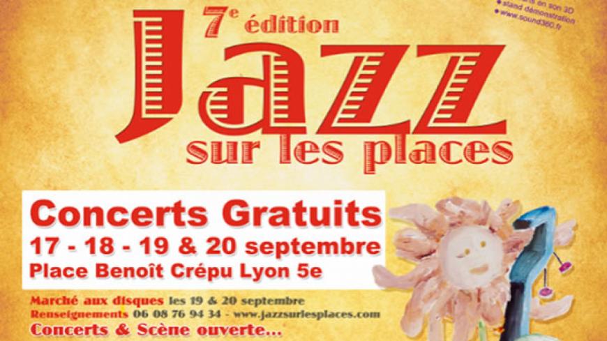 """Jazz Radio partenaire de la 7ème édition du """"Jazz sur les places"""" !"""