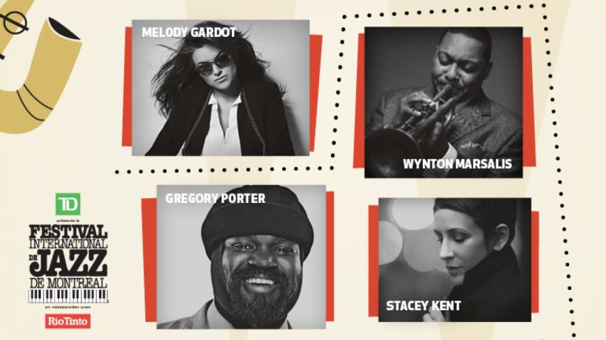 Du très grand à l'affiche du Festival de Jazz de Montréal !