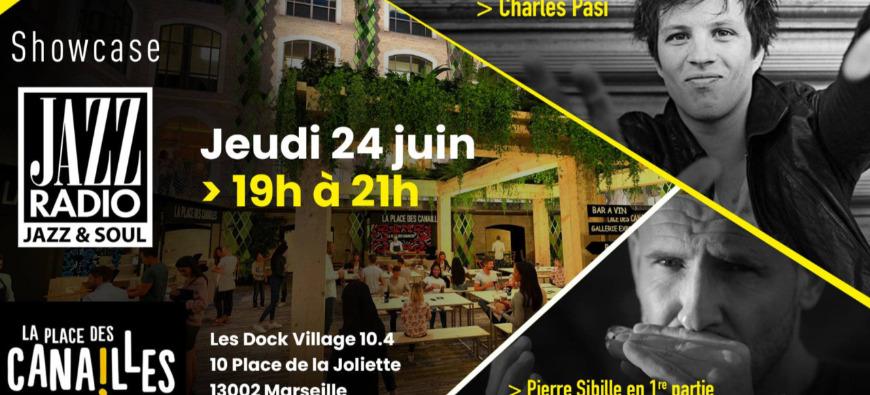 Jazz Radio vous invite au showcase de Charles Pasi à Marseille