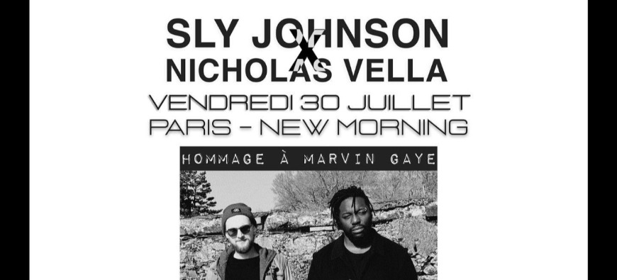 Sly Johnson rend hommage à Marvin Gaye au New Morning !
