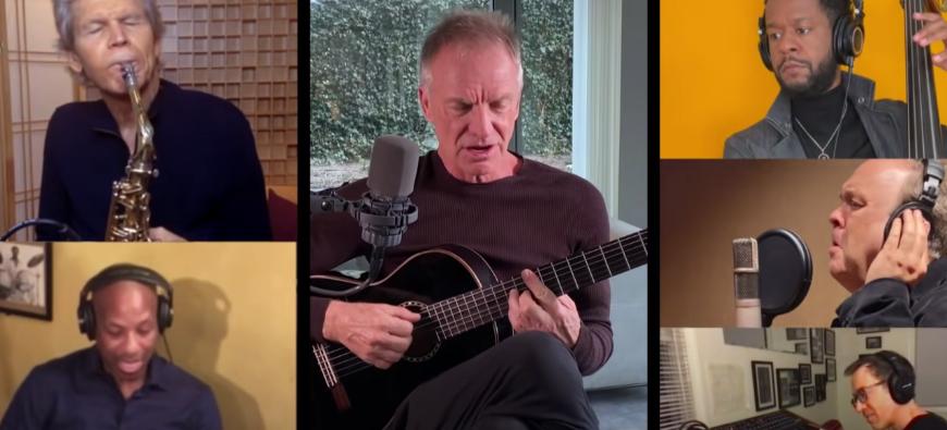 Sting se joint aux Sanborn Sessions du saxophoniste David Sanborn ! (vidéo)