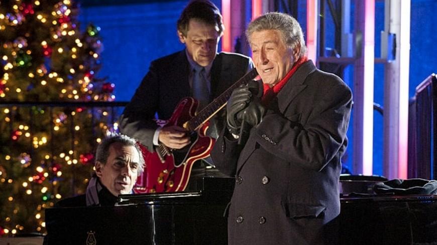 Tony Bennett : revivez sa prestation au Christmas in Rockefeller Center !