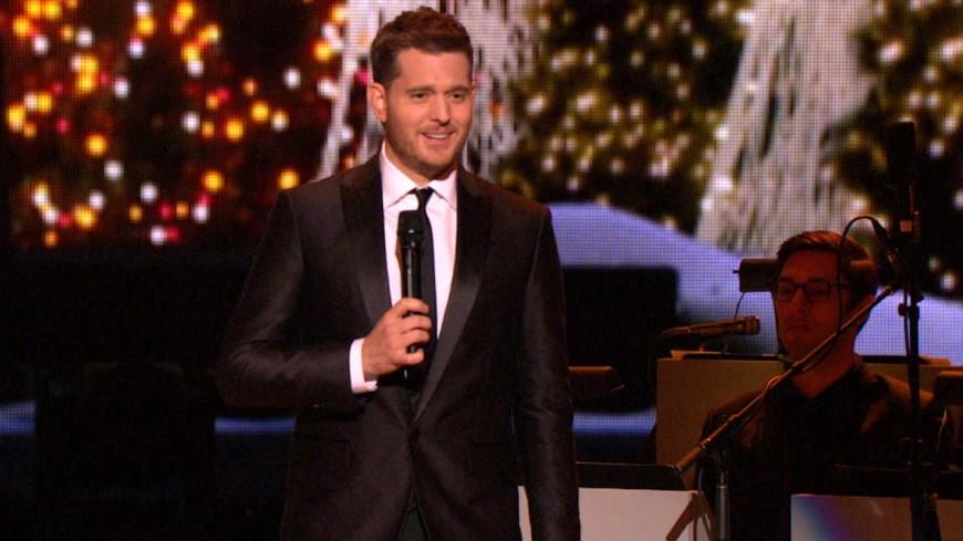 Revivez le concert de Michael Bublé spécial fêtes de fin d'année !