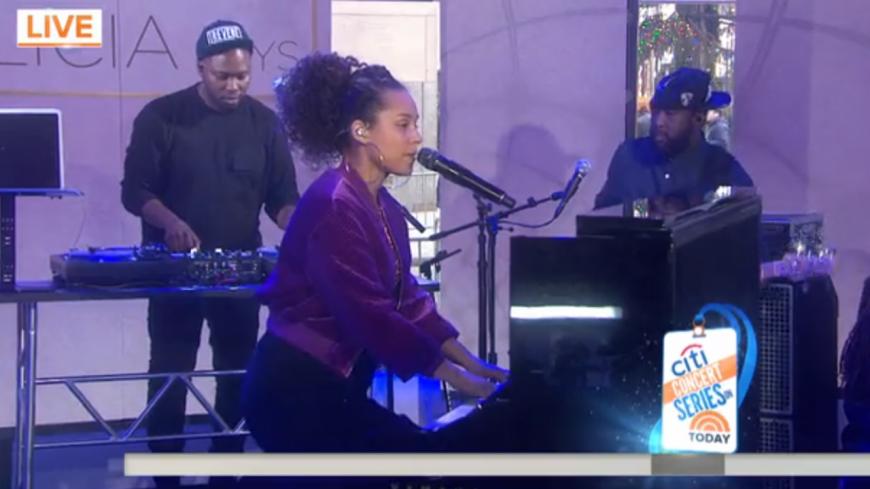 Alicia Keys interprète un nouvel extrait de son dernier album pour la première fois !