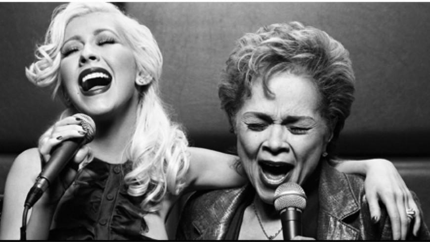 Christina Aguilera reprend At Last lors des funérailles d'Etta James !