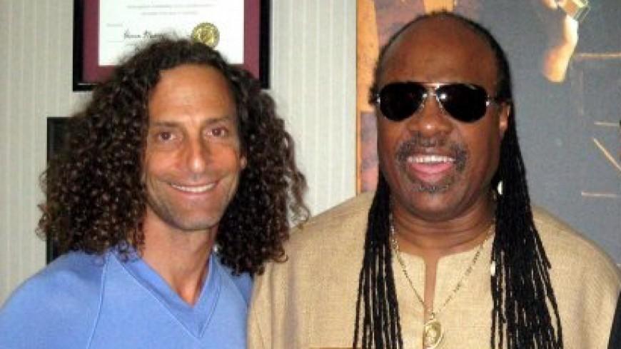 Stevie Wonder et Kenny G réunis dans un live !