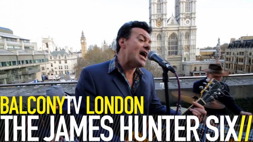 "VIDÉO : James Hunter Six ""(Baby) Hold On"" live !"