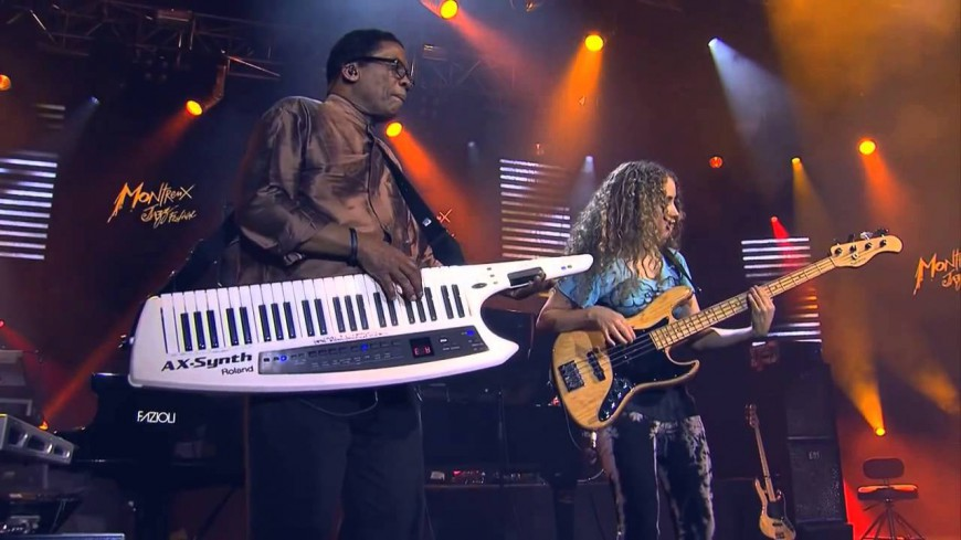 La performance de Tal Wilkenfeld & Herbie Hancock au Montreux Jazz Festival !