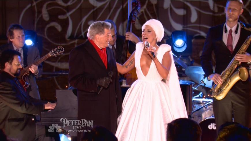 Lady Gaga & Tony Bennett - Winter Wonderland (NBC Christmas in Rockefeller Center)